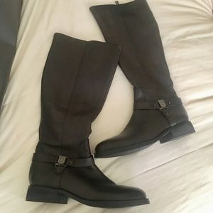 SOLD Vince Camuto Farren Riding Boots Black